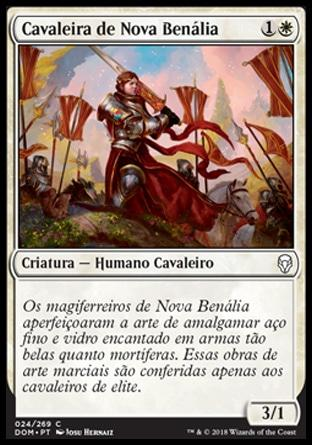 Cavaleira de Nova Benália / Knight of New Benalia