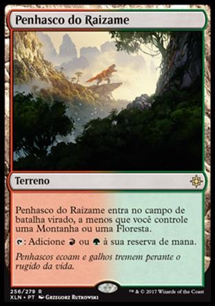 Penhasco do Raizame / Rootbound Crag