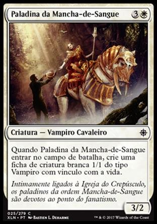 Paladina da Mancha-de-Sangue / Paladin of the Bloodstained