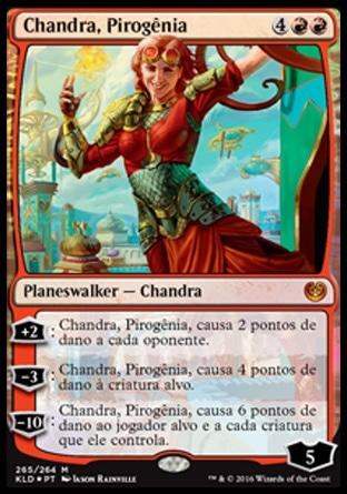 Chandra, Pirogênia / Chandra, Pyrogenius
