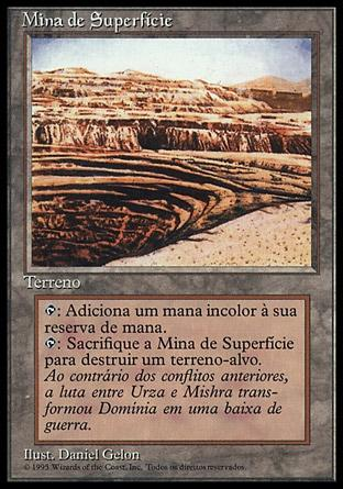 Mina de Superfície / Strip Mine