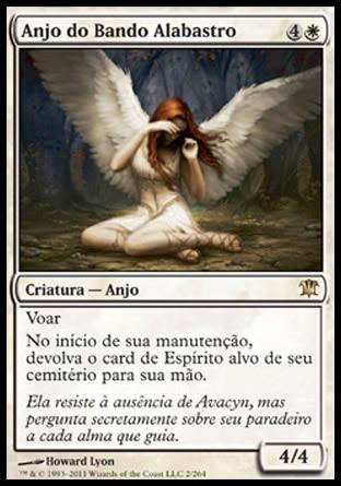 Anjo do Bando Alabastro / Angel of Flight Alabaster