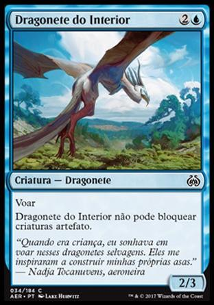 Dragonete do Interior / Hinterland Drake