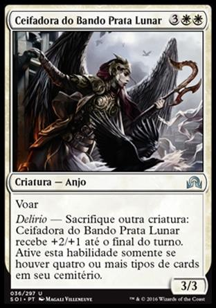 Ceifadora do Bando Prata Lunar / Reaper of Flight Moonsilver