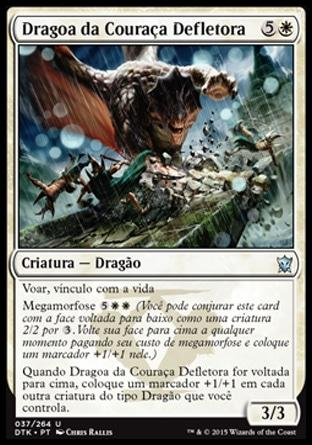 Dragoa da Couraça Defletora / Shieldhide Dragon