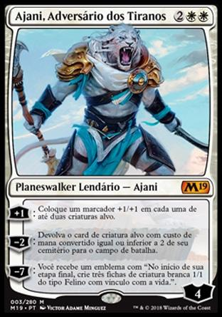 Ajani, Adversário dos Tiranos / Ajani, Adversary of Tyrants