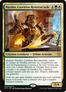 Nazahn, Cuteleiro Reverenciado / Nazahn, Revered Bladesmith