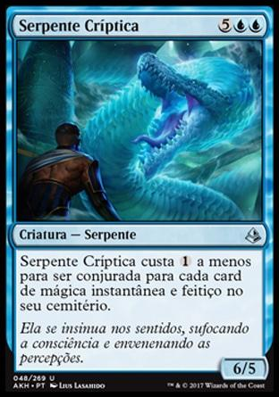 Serpente Críptica / Cryptic Serpent