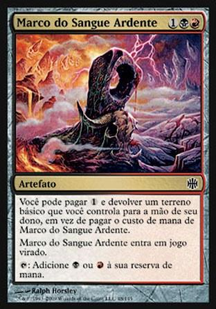 Marco do Sangue Ardente / Veinfire Borderpost