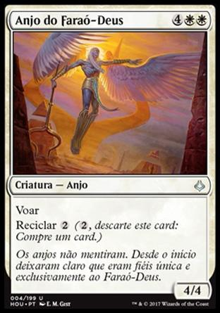 Anjo do Faraó-Deus / Angel of the God-Pharaoh