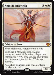 Anjo da Invenção / Angel of Invention