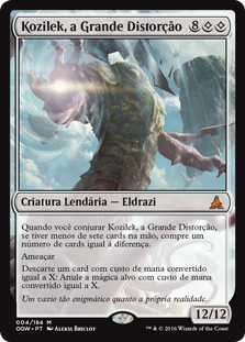 Kozilek, a Grande Distorção / Kozilek, the Great Distortion