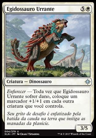 Egidossauro Urrante / Bellowing Aegisaur