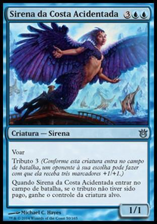 Sirena da Costa Acidentada / Siren of the Fanged Coast