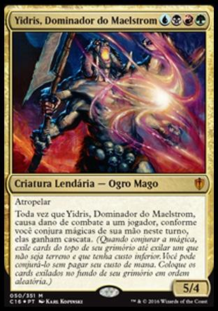 Yidris, Dominador do Maelstrom