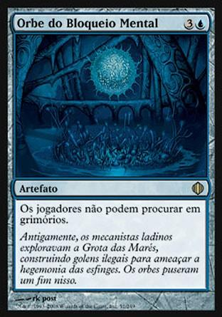 Orbe do Bloqueio Mental / Mindlock Orb
