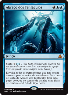 Abraço dos Tentáculos / Crush of Tentacles