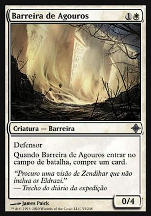 Barreira de Agouros / Wall of Omens