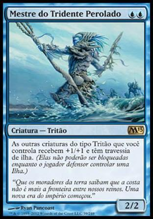 Mestre do Tridente Perolado / Master of the Pearl Trident