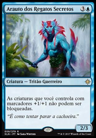 Arauto dos Regatos Secretos / Herald of Secret Streams