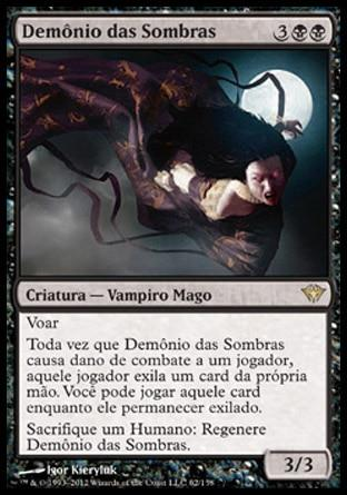 Demônio das Sombras / Fiend of the Shadows