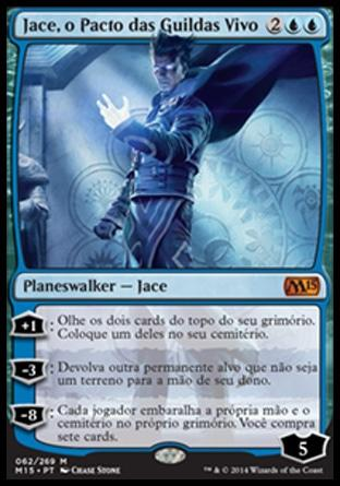 Jace, o Pacto das Guildas Vivo / Jace, the Living Guildpact