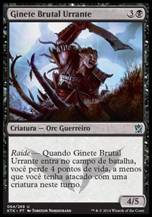 Ginete Brutal Urrante / Bellowing Saddlebrute