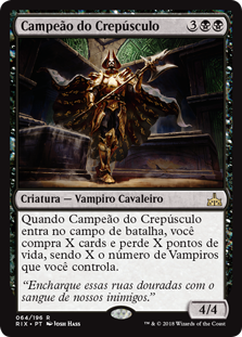 Campeão do Crepúsculo / Champion of Dusk