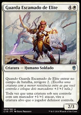 Guarda Escamado de Elite / Elite Scaleguard