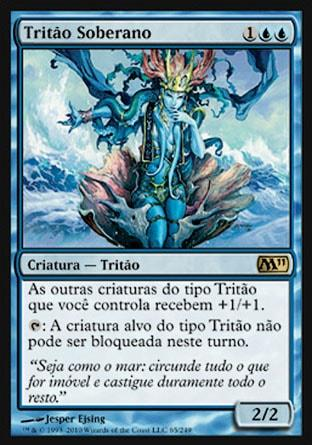 Tritão Soberano / Merfolk Sovereign