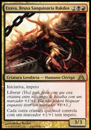 Exava, Bruxa Sanguinária Rakdos / Exava, Rakdos Blood Witch