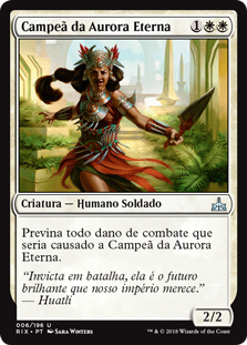 Campeã da Aurora Eterna / Everdawn Champion