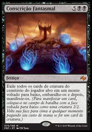 Conscrição Fantasmal / Ghastly Conscription