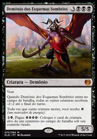 Demônio dos Esquemas Sombrios / Demon of Dark Schemes