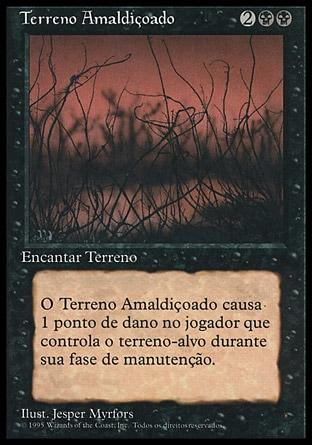 Terreno Amaldiçoado / Cursed Land
