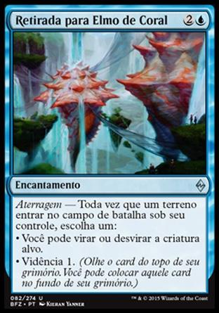 Retirada para Elmo de Coral / Retreat to Coralhelm