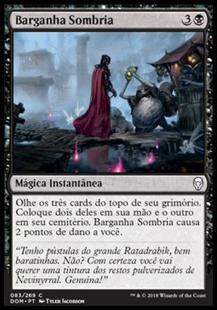 Barganha Sombria / Dark Bargain