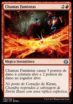 Chamas Famintas / Hungry Flames