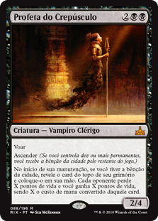 Profeta do Crepúsculo / Twilight Prophet
