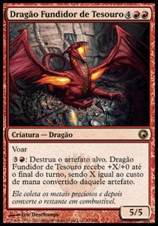 Dragão Fundidor de Tesouro / Hoard-Smelter Dragon