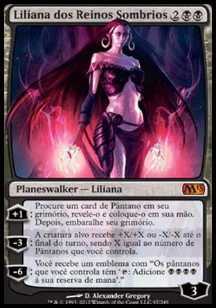Liliana dos Reinos Sombrios / Liliana of the Dark Realms