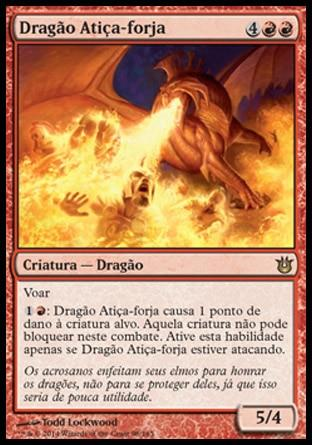 Dragão Atiça-forja / Forgestoker Dragon