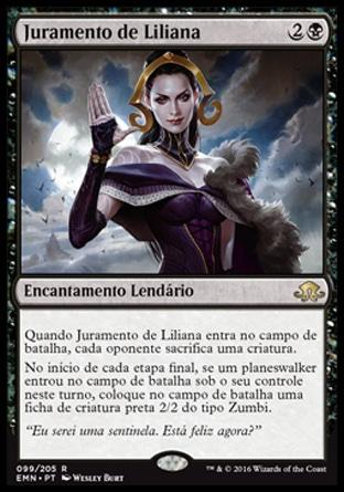 Juramento de Liliana / Oath of Liliana
